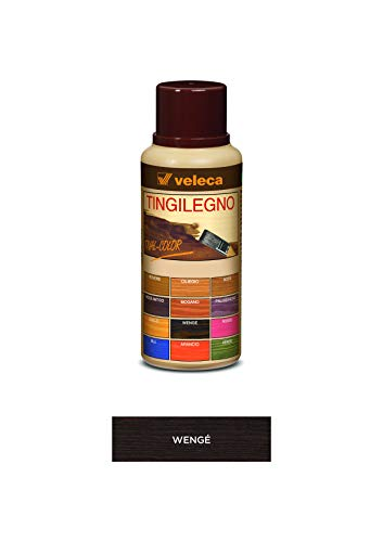 Veleca TIVAL COLOR TINGILEGNO Wengé - ml. 250 - TINGENTE PER LEGNO DA INTERNO