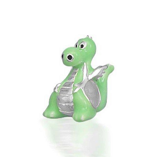 Bling Jewelry Freundlich Grün Dinosaurier Drache Bead Charms Für Damen Für Jugendlich Sterling Silber Passt Europäischen Armband