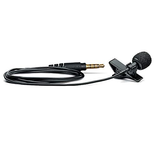 Shure MVL/A Omnidirectional Condenser Lavalier Microphone...
