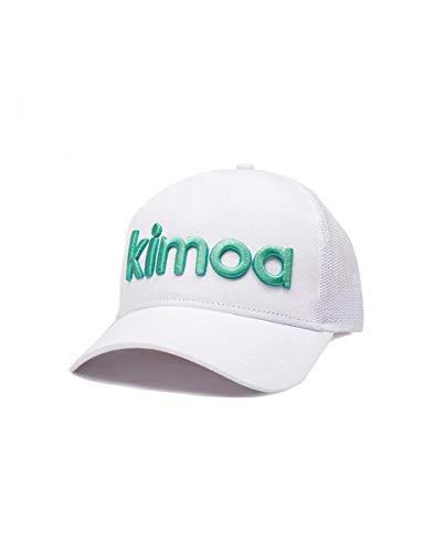 Kimoa Volley Bianco Gebogene Kappe, Weiß, Standard