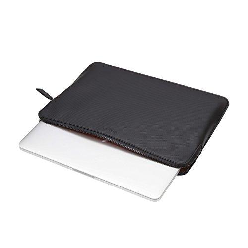 Knomo 14-207-BPU Embossed Sleeve for 13-Inch MacBook Air/Pro/Ultrabook - Black