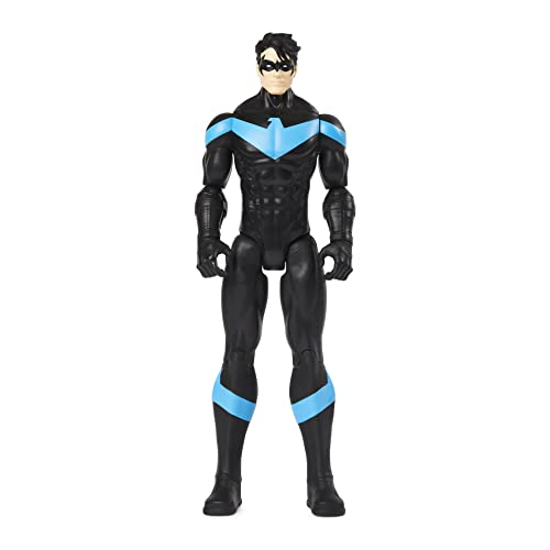 DC Comics Batman 12-inch Nightwing Action Figure, Kids Toys for Boys Aged 3 and up