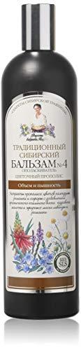 Traditioneller sibirischer Balsam №4, 550ml, Volumen und Pracht