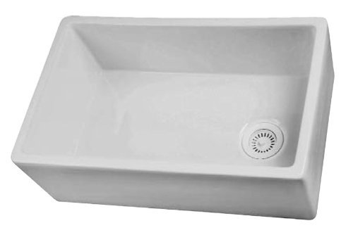 Barclay FS30 Fire Clay Farmer Sink, White