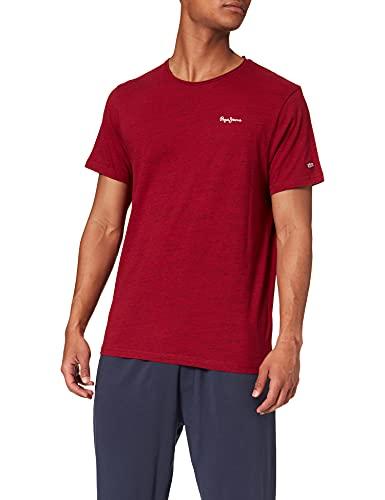 Pepe Jeans Paul Camiseta, Multicolo (287currant), Medium para Hombre