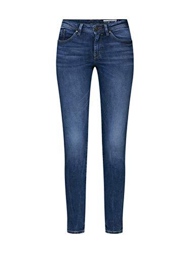 edc by ESPRIT Damen 999Cc1B805 Skinny Jeans, Blau (Blue Medium Wash 902), W26/L32 (Herstellergröße: 26/32)