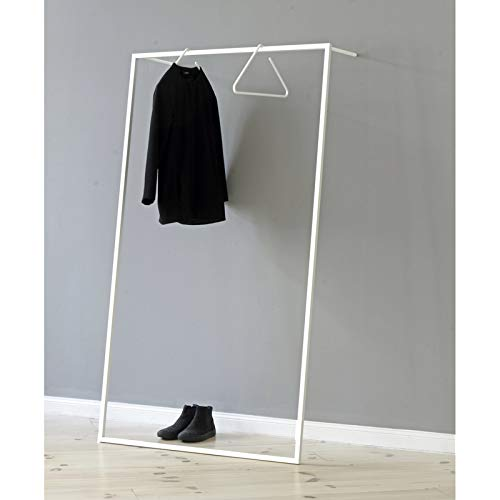 Roomsafari Modular Frames Leano Garderobe 100 x 30 cm, h 170 cm - weiß
