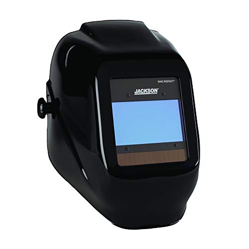 Jackson Safety 46131 Insight Variable Auto Darkening Welding Helmet, HaloX,Black