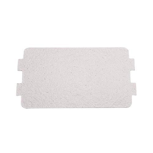 Reemplazo de hoja de mica para horno de microondas, 5 piezas plateadas de 116 x 64 mm, placa de mica para horno de microondas para hornos de microondas, electrodomésticos para