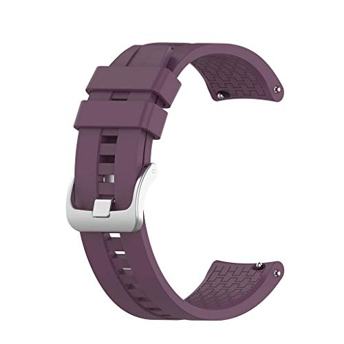 Pinhaijing para Huawei - Watch GT/GT2(Pro) 46 mm, Samsung -Galaxy Watch 3/active 45 mm/Watch 46 mm, -Huami -Amazfit GTR 47 mm, - Pulseira de relógio inteligente Garmin Pulseira de silicone esportiva 22 mm