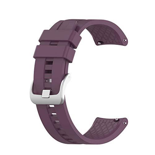 YOKING - Correa de reloj para reloj Hu-wei Watch GT2/-Sa-Sung – Gal-axYWatch3 – AMA-zfitGTR – Correa de silicona