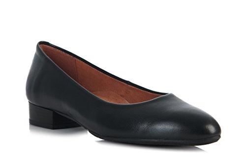 Aerobics BL 5598 Padded Leather Cabin Shoe/Crew Shoe (39, Black)