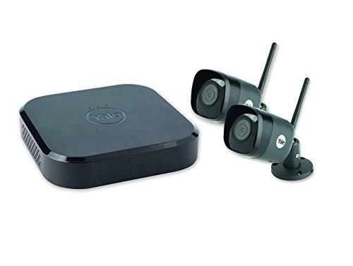 professionnel comparateur Yale SV-4C-2DB4MX – Système CCTV connecté sans fil Caméra 4 canaux 2 WIFI HD 4MP… choix