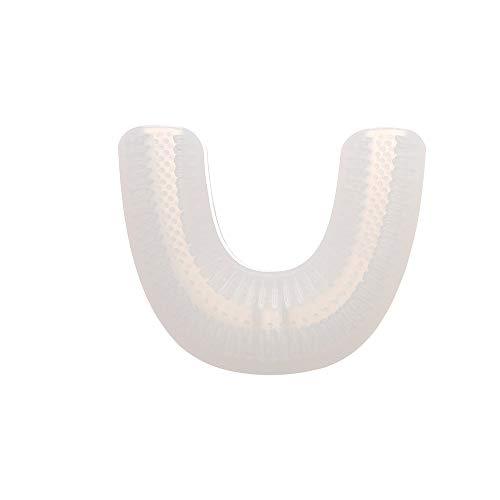 Kindertandenborstel vervangende koppen U-vorm silicone met zachte borstelharen compatibel met elektrische tandenborstel voor peuters & kinderen tandvlees gezondheid 2