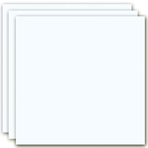 MarpaJansen 360.520-03 Tonzeichenpapier-(50 x 70 cm, 10 Bogen, 130 g/m²) -zum Basteln & Gestalten-Zertifizierung durch,Blauer Engel-weiß, Mehrfarbig, One Size