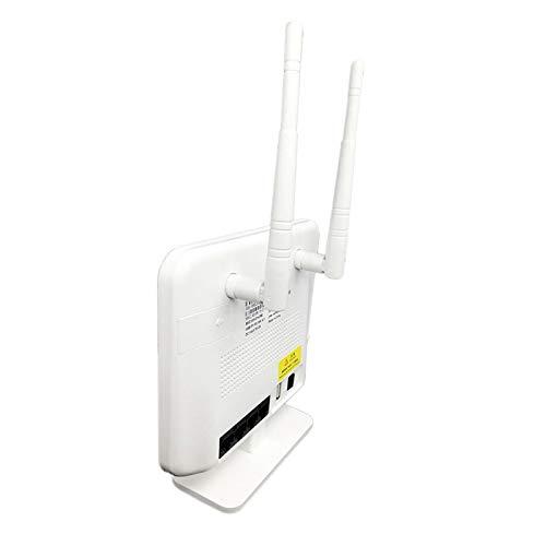 SODIAL Enrutador, Enrutador DoméStico de 300 Mbps con Firewall Frecuencia de 2,4 G Admite Sudeste de Asia, Europa, PaíSes de Asia (Modelo de BateríA)