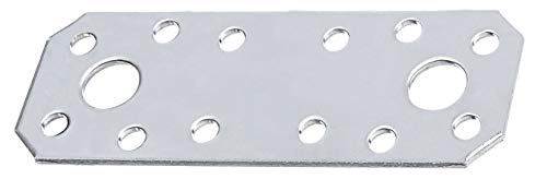 GAH-Alberts 361006 Lastrina di giunzione piana, Acciaio, 100 x 35 mm / 25 pz