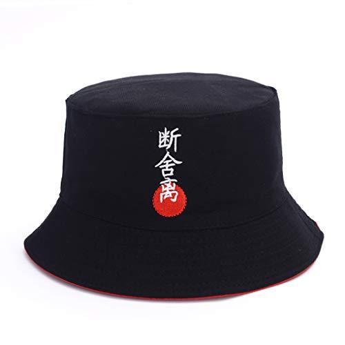 AROVON Sombrero de cubo para hombres y mujeres Corea Harajuku Hipp Hop Cap Moda Japonés Viaje Plegable Casual Cap 12
