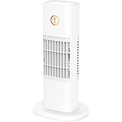 ZBQLKM Ventilador de Aire Acondicionado de Carga USB portátil, configuración de 3 velocidades, Ventilador de Aire Acondicionado LED LED, Adecuado para Entorno Personal, Dormitorio, pequeña Oficina