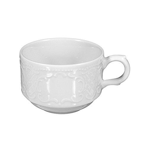 Seltmann Weiden Obere zur Kaffeetasse 1/6 Stück Salzburg Weiss Uni 00003