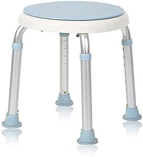comprar comparacion MCTECH silla de ducha taburete baño taburete altura regulable – Taburete de baño giratorio 360 ° ducha Asiento baño Asient...