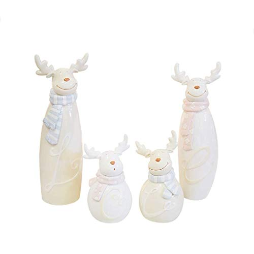 Ornaments XM Statue Decorations Crafts Resin Wine Cabinet Room Family Four Furniture