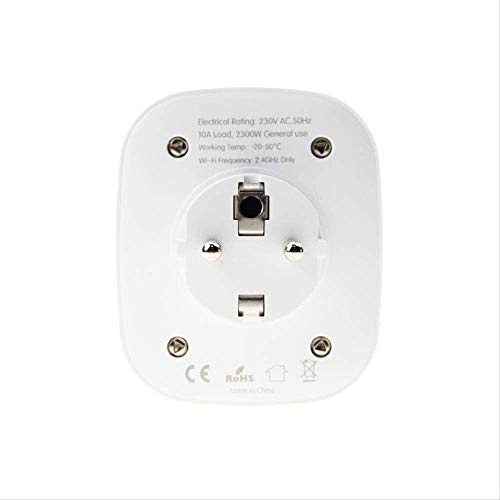 Smart Plug, Smart Socket, Afstandsbediening, Schema en Timer-functie WiFi Smart Socket App Remote Control Switch Timing Remote Control Voice Control slimme stekker,dsnmm