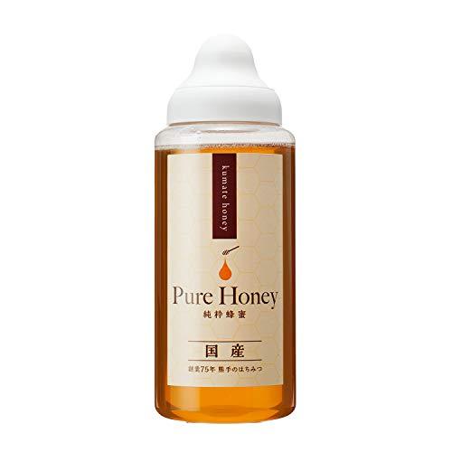 [熊手のはちみつ] 国産純粋 はちみつ (ポリ 1kg) 100%純粋 ハチミツ 蜂蜜