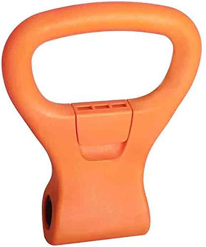 Junenoma Kettlebell Grip, Kettlebell Regolabile Portatile del Peso di Grip di Viaggio di Allenamento Attrezzature Morsetti per Dumbell per Borsa da Palestra Sollevamento Pesi Bodybuilding Fascette