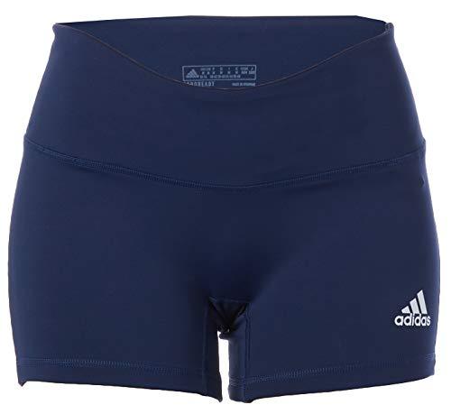 adidas Women's Standard 4 Inch Shorts, Team Navy Blue/White, Medium