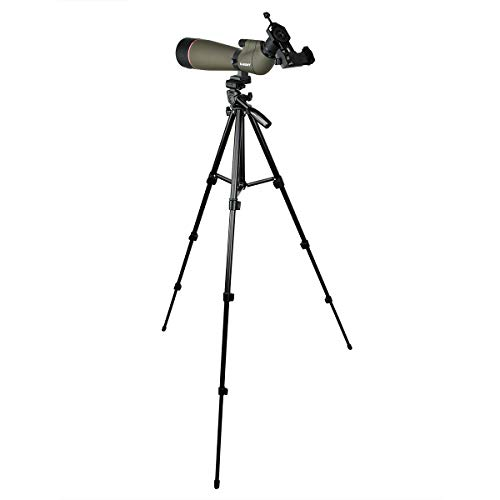 SVBONY SV13 Spotting Scope with 4 Section Tripod Waterproof Spotting Scope for Bird Watching Hunting with Phone Adapter