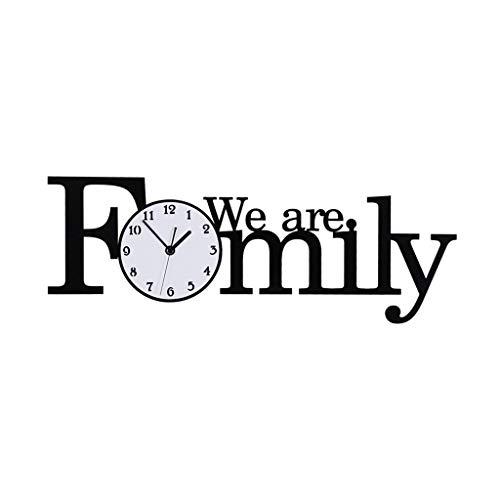 SHUMACHENG2020 Reloj Pared Moderno Minimalista Personalidad Reloj Creativo Hogar Sala de Estar Reloj de Pared Decorativo Reloj de Pared (Size : XL)