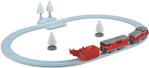 Pla DD14 + DE10 snow removal vehicle set (japan import)