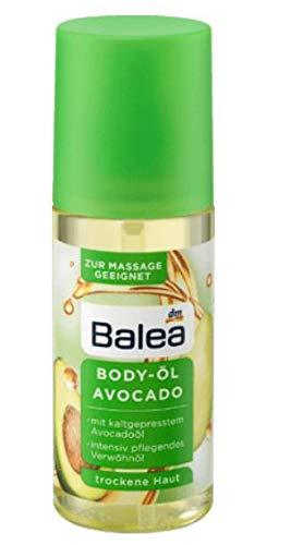 Körperöl - Body öl - Avocado mit kaltgepresstem Avocado-Öl - Intensiv pflegendes Verwöhnöl - Für Massage geeignet - Für Trockene und Sehr Trockene Haut - 150 ml