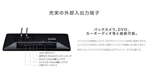 セイワ(SEIWA)カーナビPIXYDAPNM86F8型タテ・ヨコ回転表示対応ゼンリン地図データ搭載地図更新3年間無料フルセグ