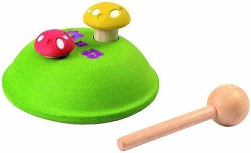 venderse como panqueques Plan Toys Pounding Pounding Pounding Mushrooms by Plan Toys  el mas reciente