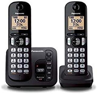PANASONIC téléphone DECT duo noir avec répondeur: Amazon.es: Electrónica