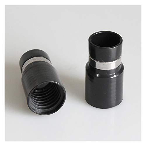 Manguera para aspiradora Conector de tubo de manguera conjunta de conexión Cabeza de conexión Compatible con electrolux Central Aspirador Diámetro externo 39mm a diámetro interior 32 mm Universal