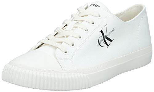 Calvin Klein Jeans Iaco Uomo Bright Bianco Sneaker-UK 11 / EU 45
