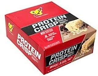 BSN Finish First Protein Crisp Protein Bars, Mocha Latte, 1.98 Oz, Box Of 12 Bars