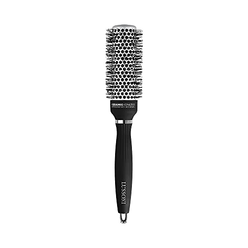 T4B LUSSONI Hot Volume Brosse A Cheveux Ronde Pour Styling Cheveux Courts Et Moyens (33 mm)