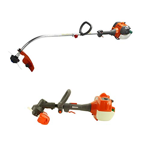 Amazing Deal Husqvarna 2 Cycle Gas Powered Lawn Trimmer & Battery Operated Toy Weed Trimmer