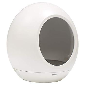 CROCI DOMUS, Dôme pour chat intelligent, Abri pour chat avec température réglable, Sons relaxants intégrés, Dimensions 43 x 45,5 cm