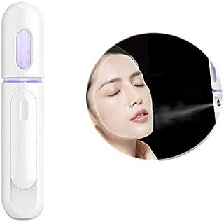 HAJKSDS Nebulizzatore Nano Mist, Spray Viso Portatile per Idratazione Profonda, Power Bank Ricaricabile USB, Face Steamer,...