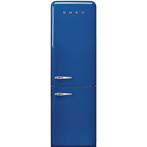 JJ FAB32RBE3 koelkast en vriezer, blauw, 331 l, A+++ – koelkast (331 l, SN-T, 5 kg/24 h, A+++, koeltas, blauw)