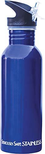 New Wave Enviro Stainless Steel Water Bottle (0.6 Liter, Blue)