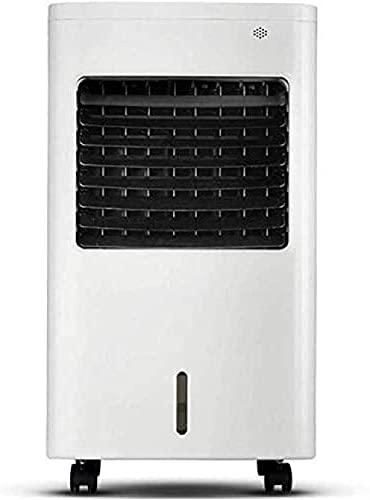 wsbdking Refrigerador de Aire del Ventilador de Aire Acondicionado portátil 3 en 1 Limpiador de Aire Moderno y humidificador 4L 65W