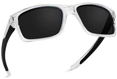 WearMe Pro - Mens Polarized Active Sports Performance Frame Driving Running Popular Men Women Sunglasses