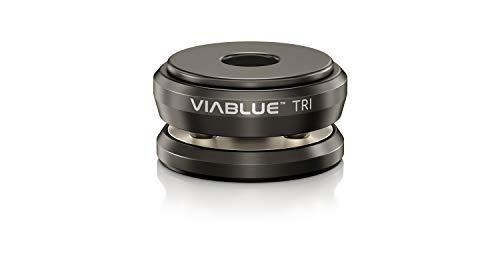VIABLUE TRI Spikes für Lautsprecher, Subwoofer und vibrierende Geräte * schwarz * Modell 2019 * Set 4 Stück