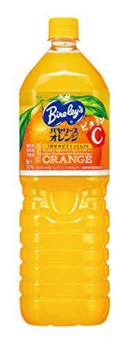 アサヒ飲料 バヤリース オレンジ 1.5L ×8本